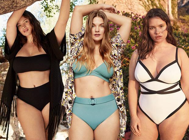 Фото №1 - Как подобрать купальник девушке plus size: главные правила и выигрышные модели