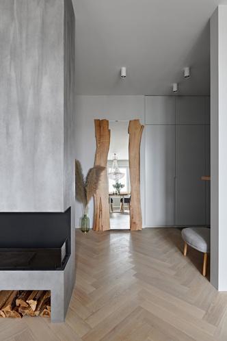 Фото №5 - Бетонная квартира 115 м² с камином в Санкт-Петербурге