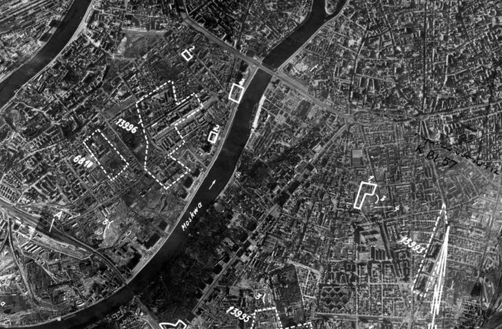 Фото №1 - Аэрофотосъемка городов СССР, сделанная немецкими самолетами-шпионами во время Великой Отечественной войны
