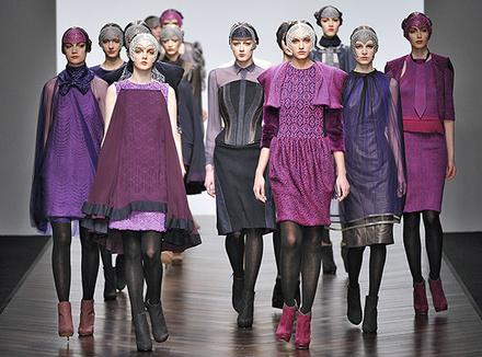Показ Bora Aksu на London Fashion Week 2013, коллекция осень/зима 2013–2014.