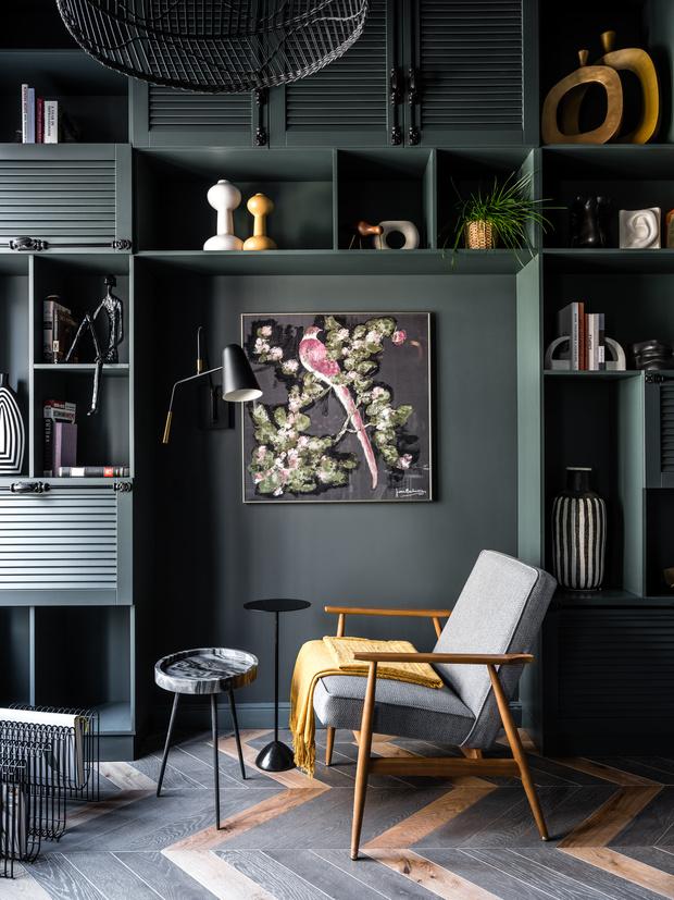 Фото №4 - Квартира 26 м² со спальней на антресоли