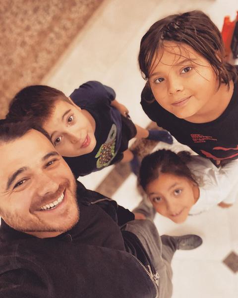 Фото №2 - Эмин морально готовит детей к тому, что у них может появиться брат или сестра