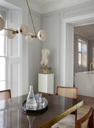 Фото №3 - Светлая квартира с винтажной мебелью в Лондоне