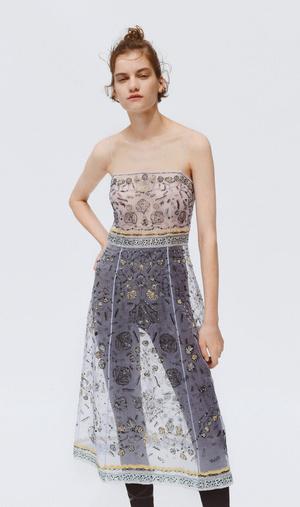 Фото №7 - Как носить платье с брюками: модные идеи на любой случай