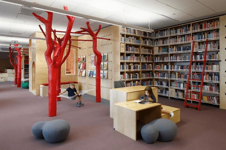Фото №2 - Яркая библиотека для детей в Риге