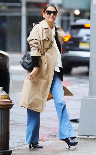 Фото №5 - Самая модная в Нью-Йорке: как одевается Кэти Холмс (и почему ее образы все повторяют)