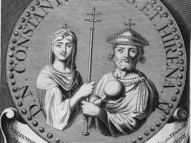 Фото №4 - От детоубийцы до святой: история Ирины Афинской— первой императрицы Византии
