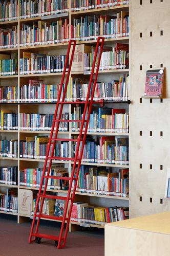 Фото №3 - Яркая библиотека для детей в Риге