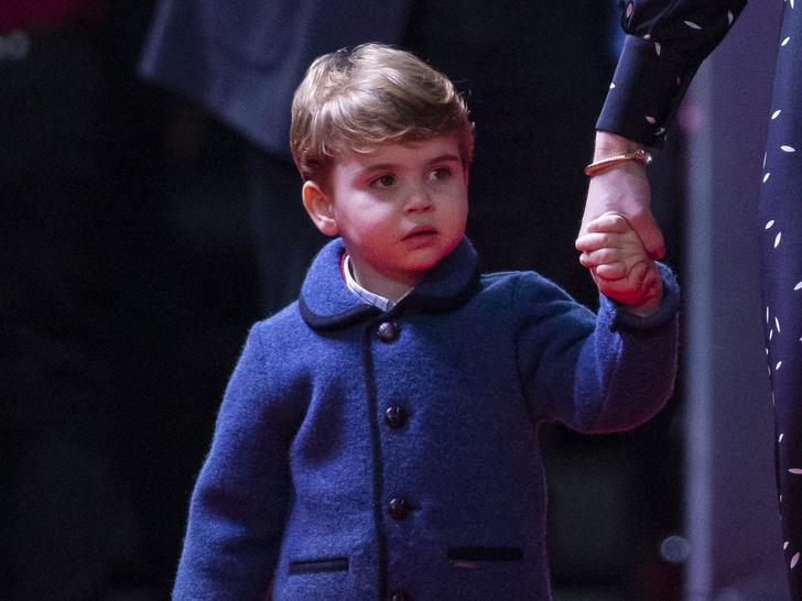 Фото №1 - Маленький джентльмен: первый светский выход принца Луи покорил поклонников