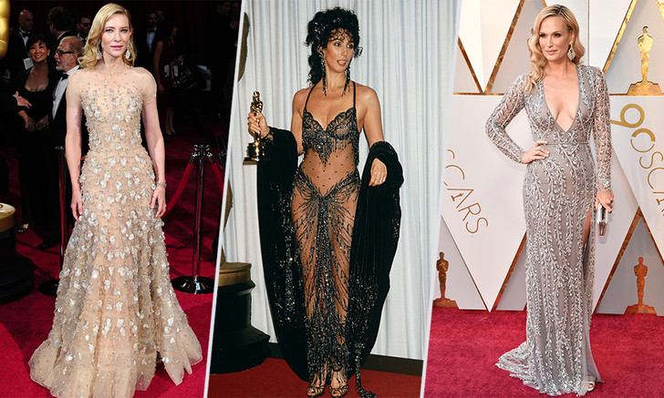 Оскар: самые голые наряды на церемонии