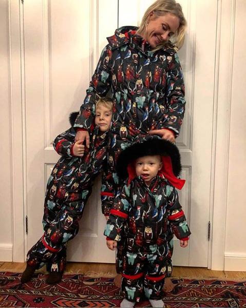 Катя Гордон с детьми фото