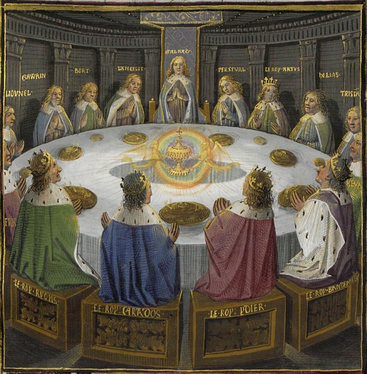 Фото №3 - Круглый стол короля Артура и его рыцари: 8 вопросов и ответов
