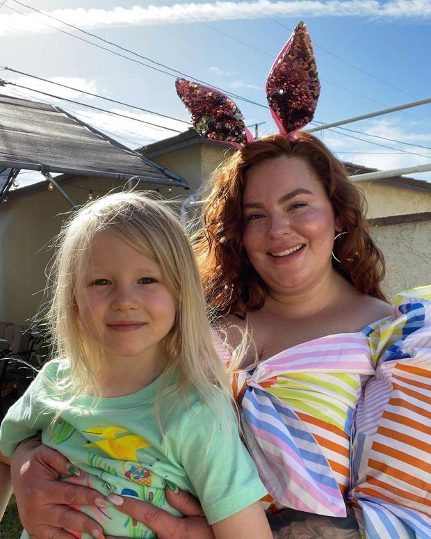 Фото №11 - Как выглядит 4-летний сын 155-килограммовой модели Тесс Холлидей