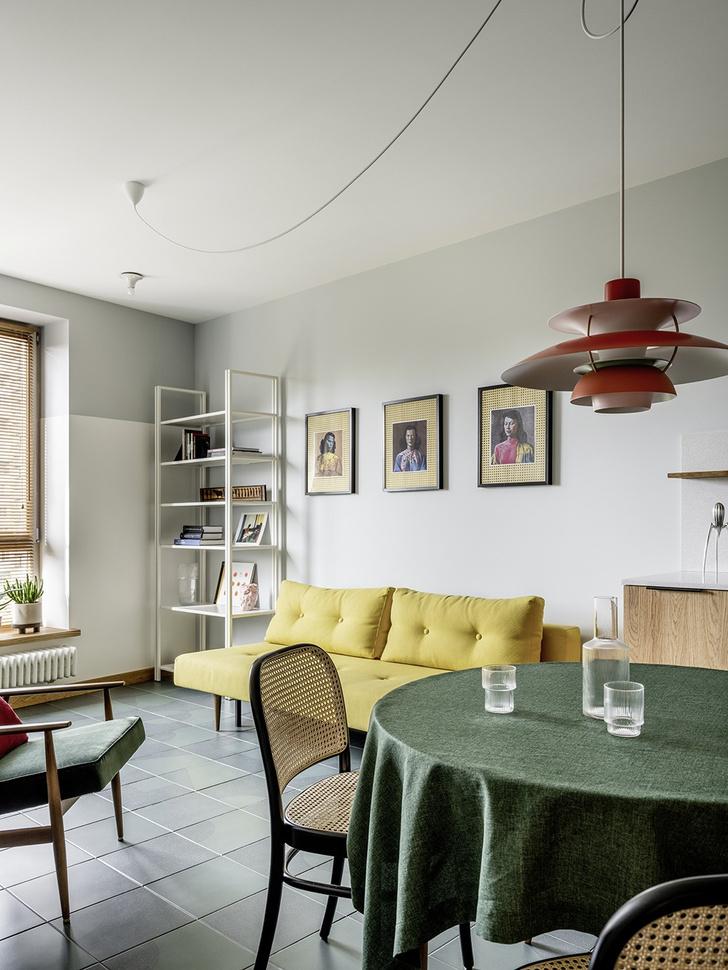 Фото №3 - Светлая квартира в скандинавском стиле в Москве