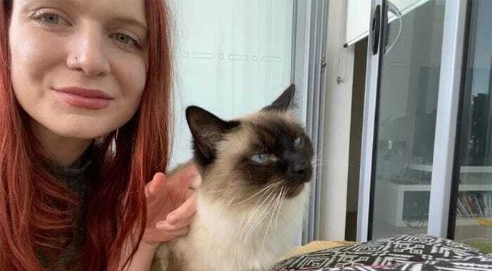 Любовь к кошкам позволила австралийке сэкономить на путешествиях