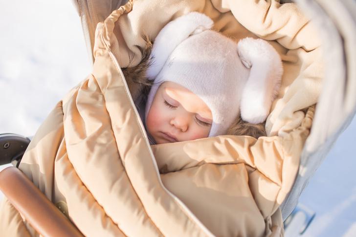 Как одевать новорожденного на улицу зимой