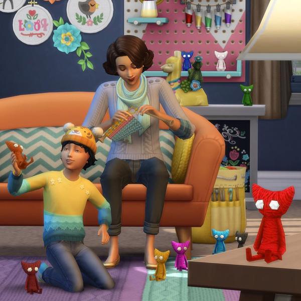 Фото №1 - The Sims 4 со скидкой! В магазине VK Play распродажа игр Electronic Arts