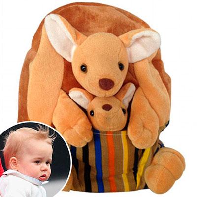 Фото №1 - Рюкзак с кенгуру, как у принца Джорджа, раскупили за считанные минуты