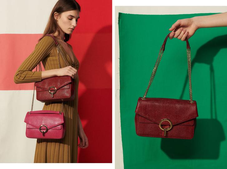 Фото №1 - 10 ярких сумок из новой коллекции Sandro