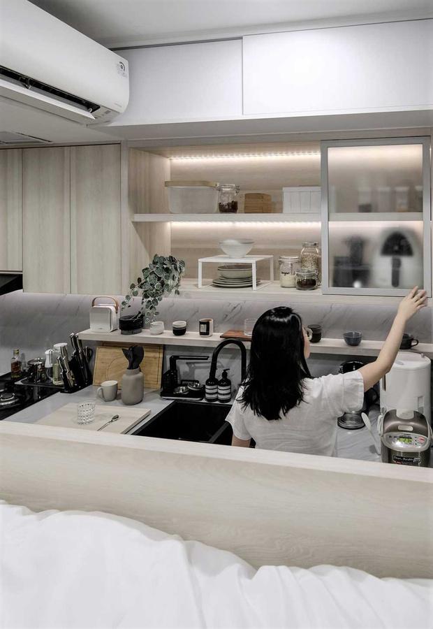 Фото №6 - Монохромная квартира 27 м² в Джакарте