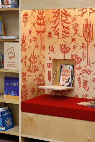 Фото №4 - Яркая библиотека для детей в Риге