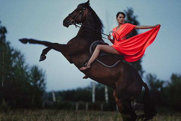 Фото №6 - Девушки на коне: самые романтичные наездницы Ульяновска