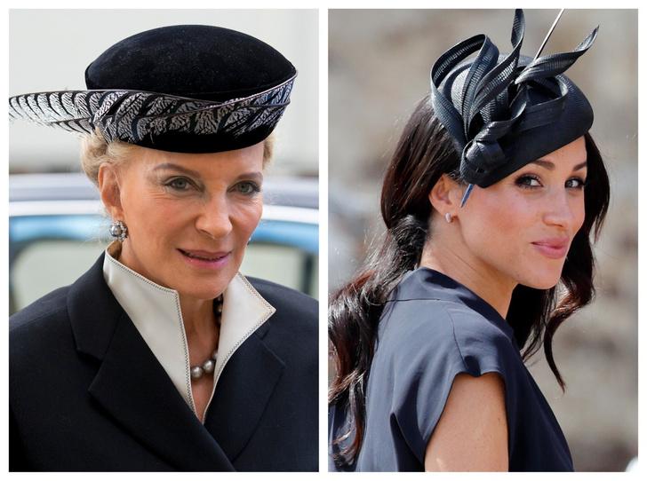 Фото №1 - Одно на двоих: говорящее прозвище, которое получили Меган и принцесса Майкл Кентская