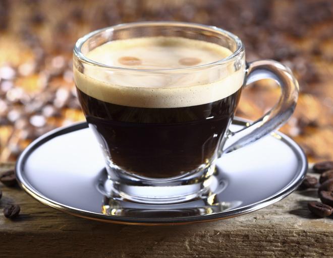 Кофе с пенкой готовят из зерен мелкого помола