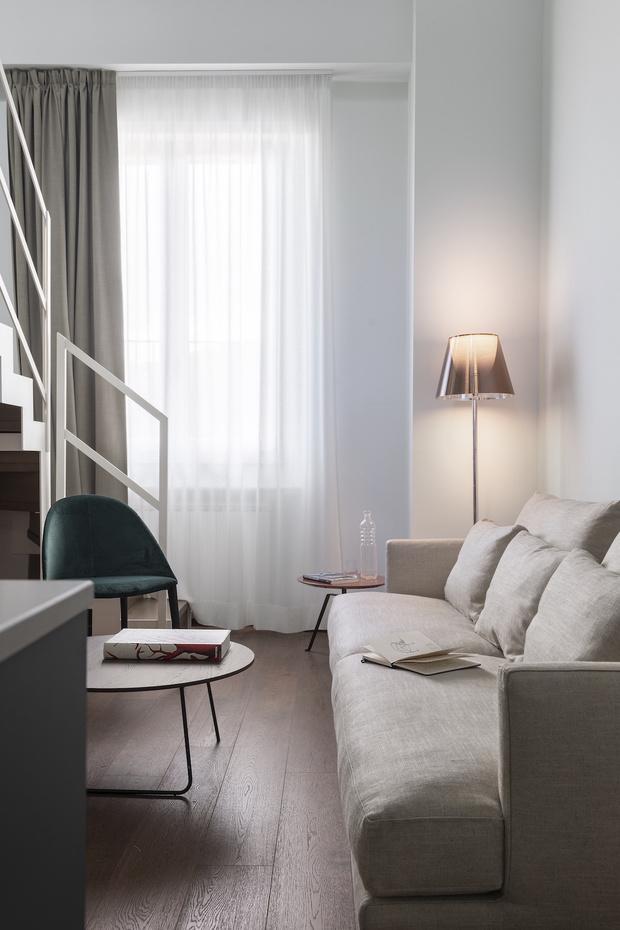Фото №4 - Современная двухуровневая квартира во Флоренции
