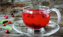 Клюквенно-апельсиновый чай