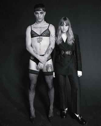 Фото №10 - Самая модная группа нашего времени: разбираем яркий и безумный стиль Maneskin