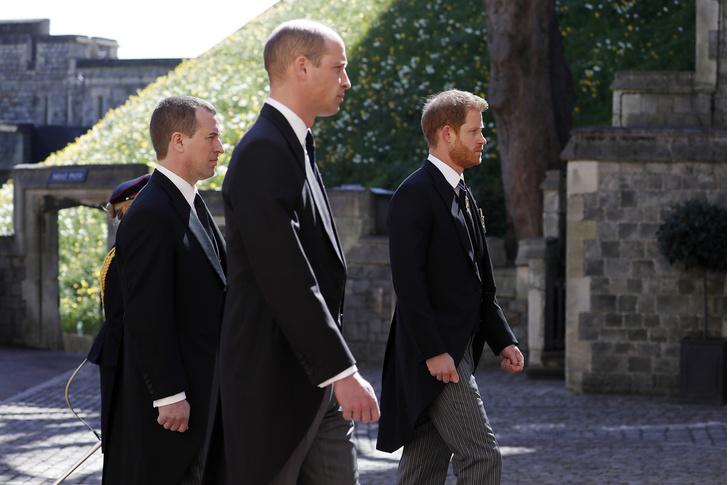 Фото №12 - Последний путь принца Филиппа: как королевская семья прощалась с любимым мужем, отцом и дедушкой