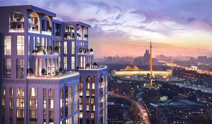 Фото №1 - В ЖК «Поклонная, 9» откроется первый в Москве отель сети SO/