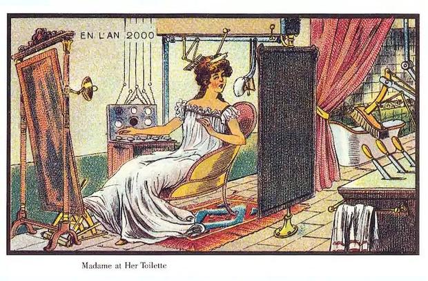Фото №10 - Как люди изображали наше время сто лет назад