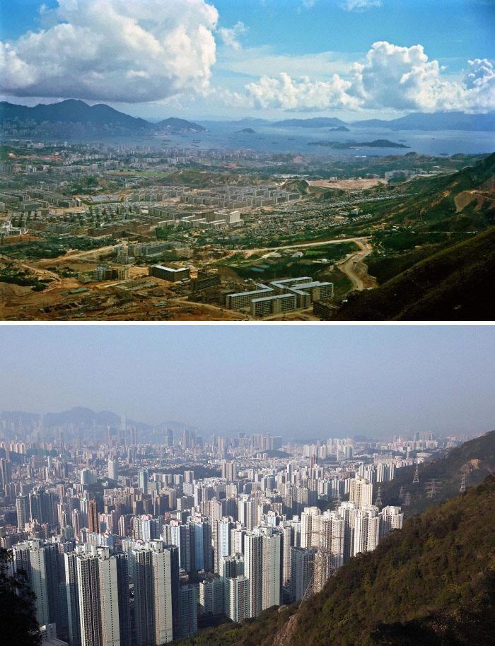 Фото №9 - 10 пейзажей, которые неузнаваемо изменило время