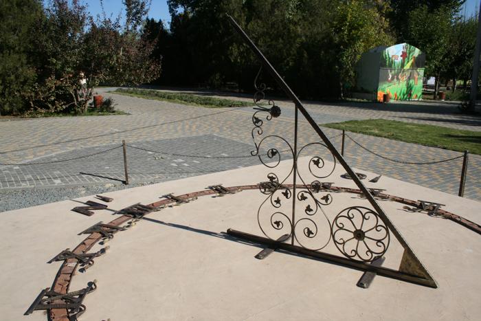 Фото №1 - Солнечные часы для Волгограда мастерили два года