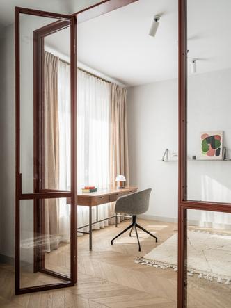 Фото №7 - Лаконичная квартира в теплых натуральных оттенках