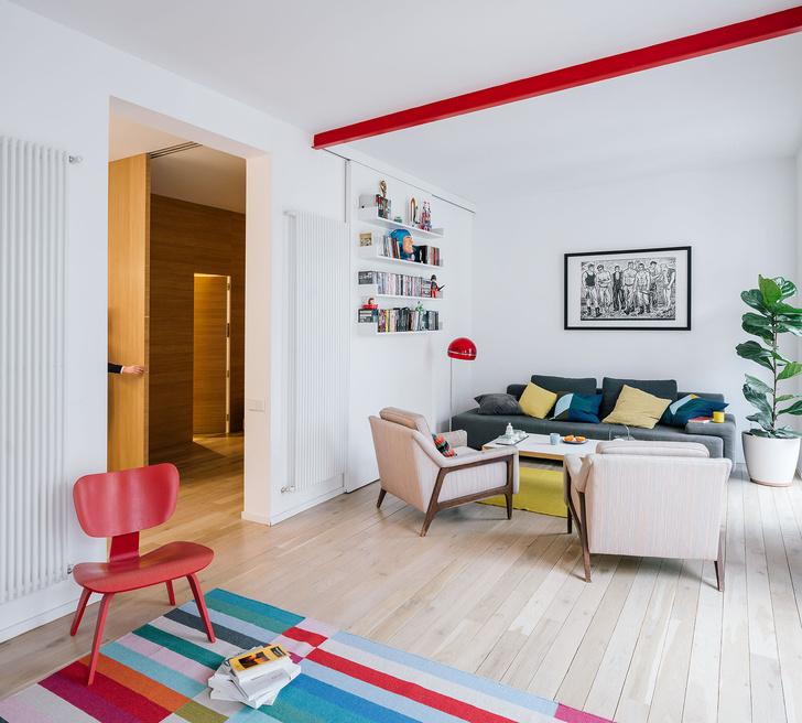 Фото №5 - Яркая квартира в Мадриде