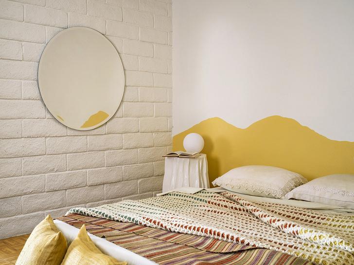 Фото №9 - Настенная роспись и авторская мебель в доме художника в Калифорнии