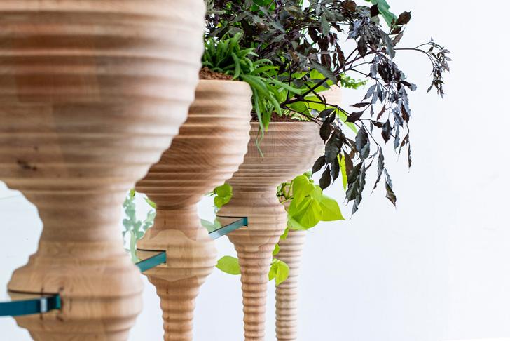 Фото №2 - Стол с кашпо для растений от Heatherwick Studio