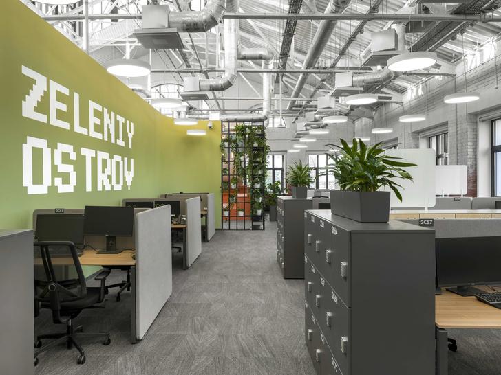 Фото №7 - Digital-интерьер для офиса IT-подразделения банка