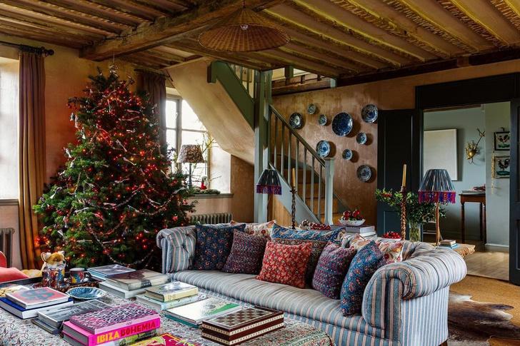 Фото №1 - Рождество в деревне: в гостях у блогера и стилиста Аманды Брукс