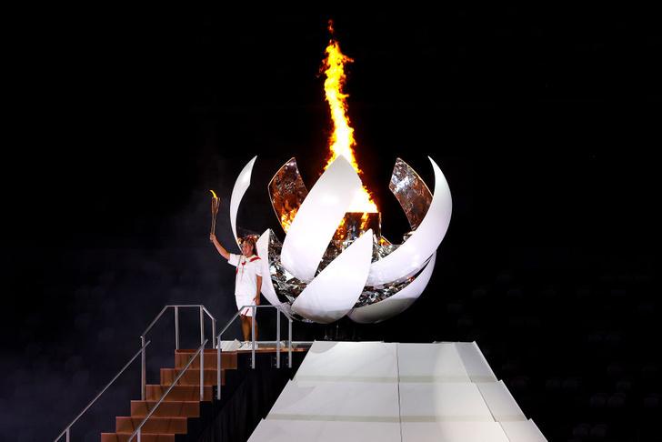 Фото №9 - Танцы ча-ча-ча, выступление актеров кабуки: как прошло открытие Олимпиады-2020 [прямая трансляция]