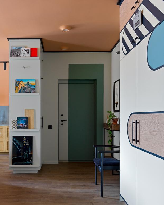 Фото №9 - Необычная яркая квартира 78 м² в центре Петербурга