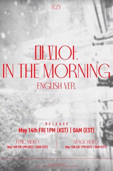 Фото №1 - ITZY объявили дату выхода трека «M.A.F.I.A In The Morning» на английском языке