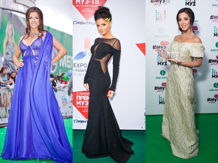 Фото №21 - Незабываемые образы звезд на «Премии МУЗ-ТВ»: модные взлеты и падения