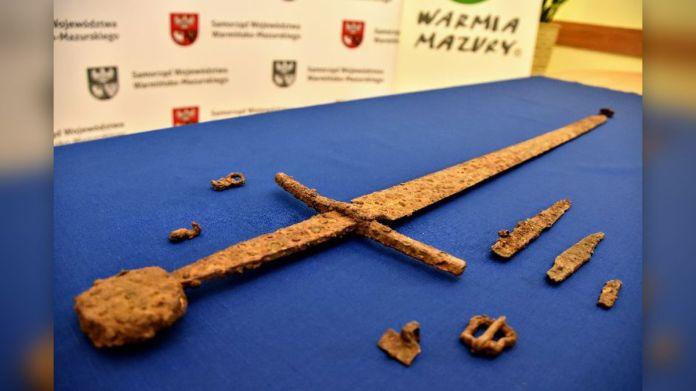 Фото №1 - Археолог-любитель нашел рыцарский меч участника Грюнвальдской битвы