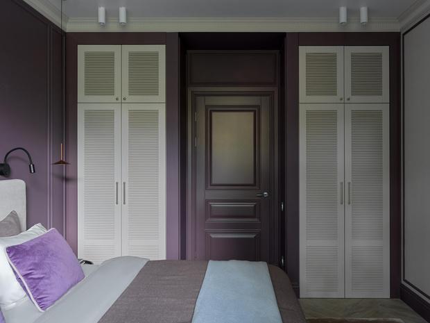 Фото №14 - Современный дизайн квартиры 100 м² в московской сталинке
