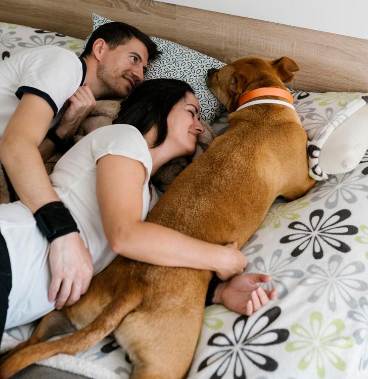 Фото №1 - Из жизни собаководов: что не стоит делать с девушкой на глазах у питомца