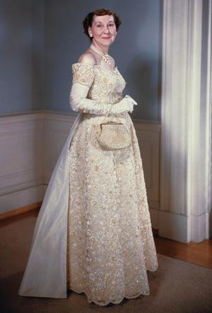 Фото №4 - Королевы Белого дома: самые роскошные инаугурационные платья Первых леди